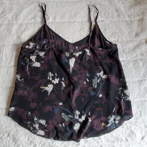 🌸100% Silk🌸 EUC Wilfred Minou Patterned Camisole